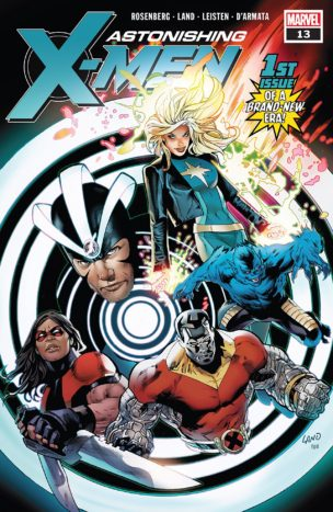 Astonishing X-Men #13 Until Our Hearts Stop Part One Comic Book Review