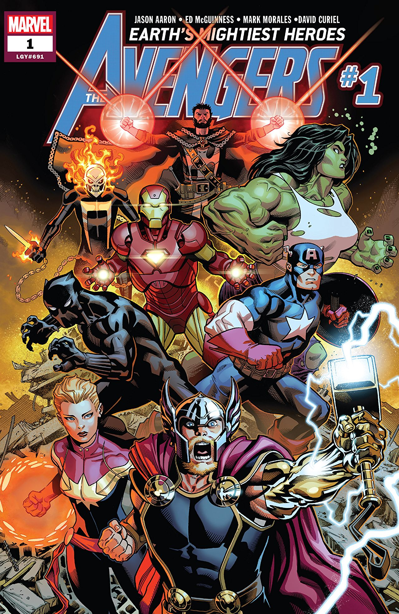 Avengers #1 The Final Host Comic Book Review