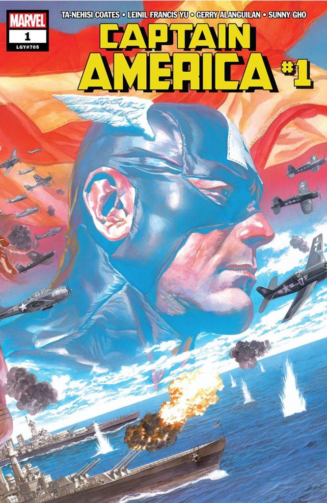 Captain America 1 Comic Book