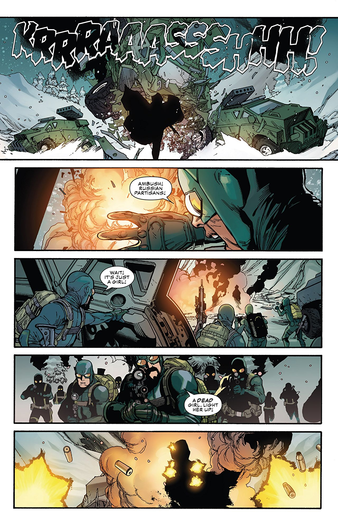 Captain America 1.3 Comic Book Review