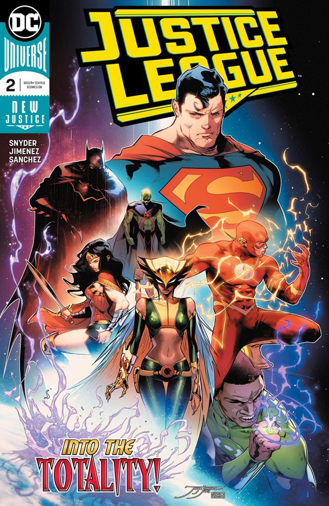 Justice League 2 Comic Book Cover Page
