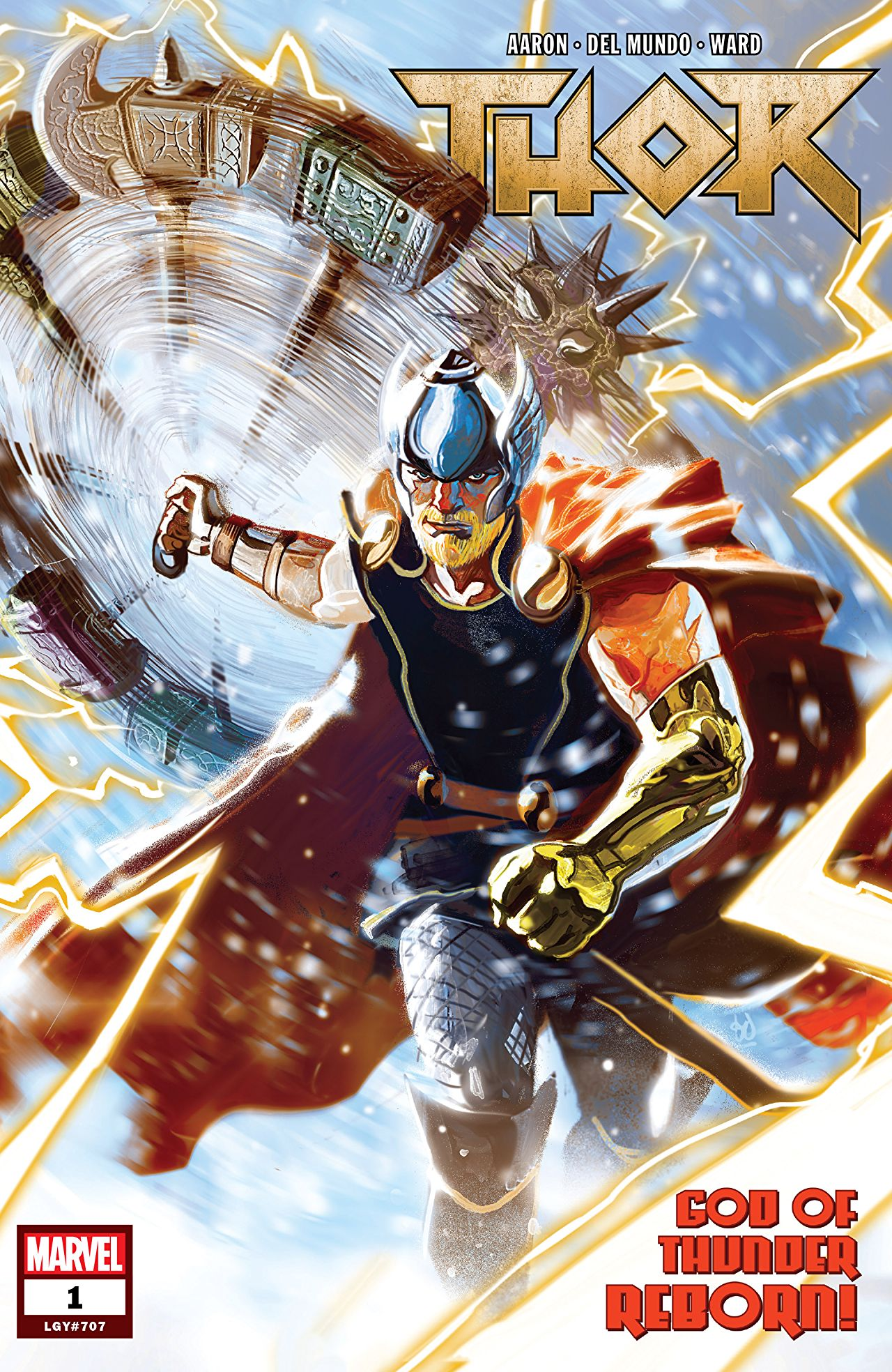 Thor #1 God of Thunder Reborn Comic Book Review