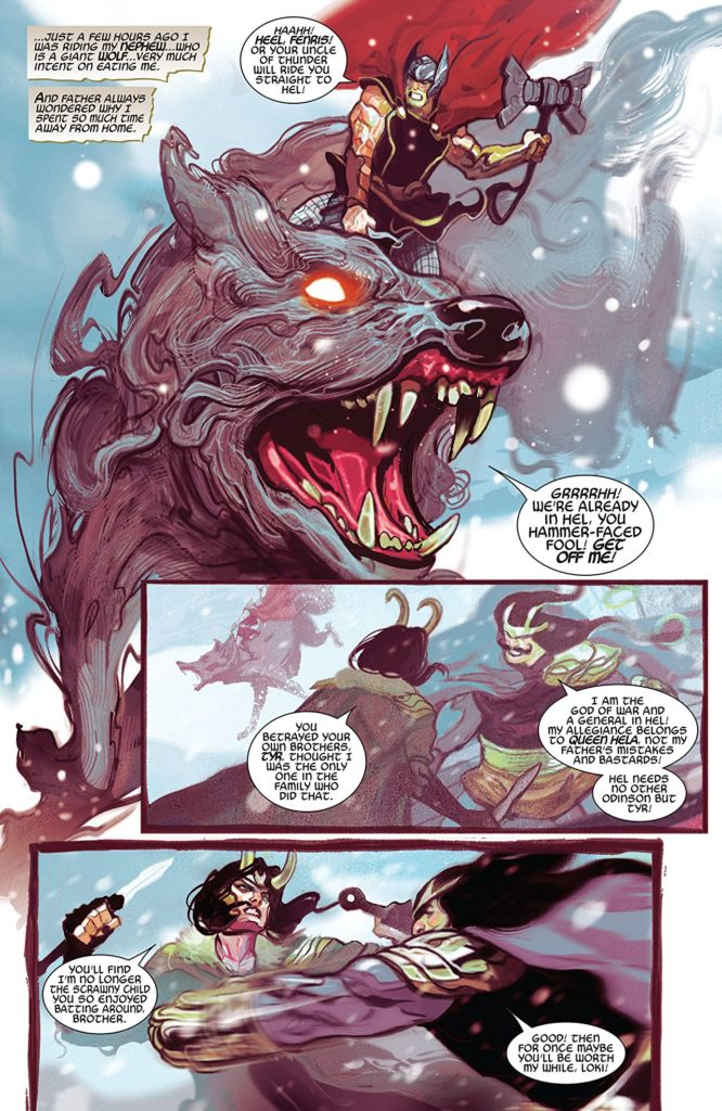 Thor 3 comic book review by Marvel comics