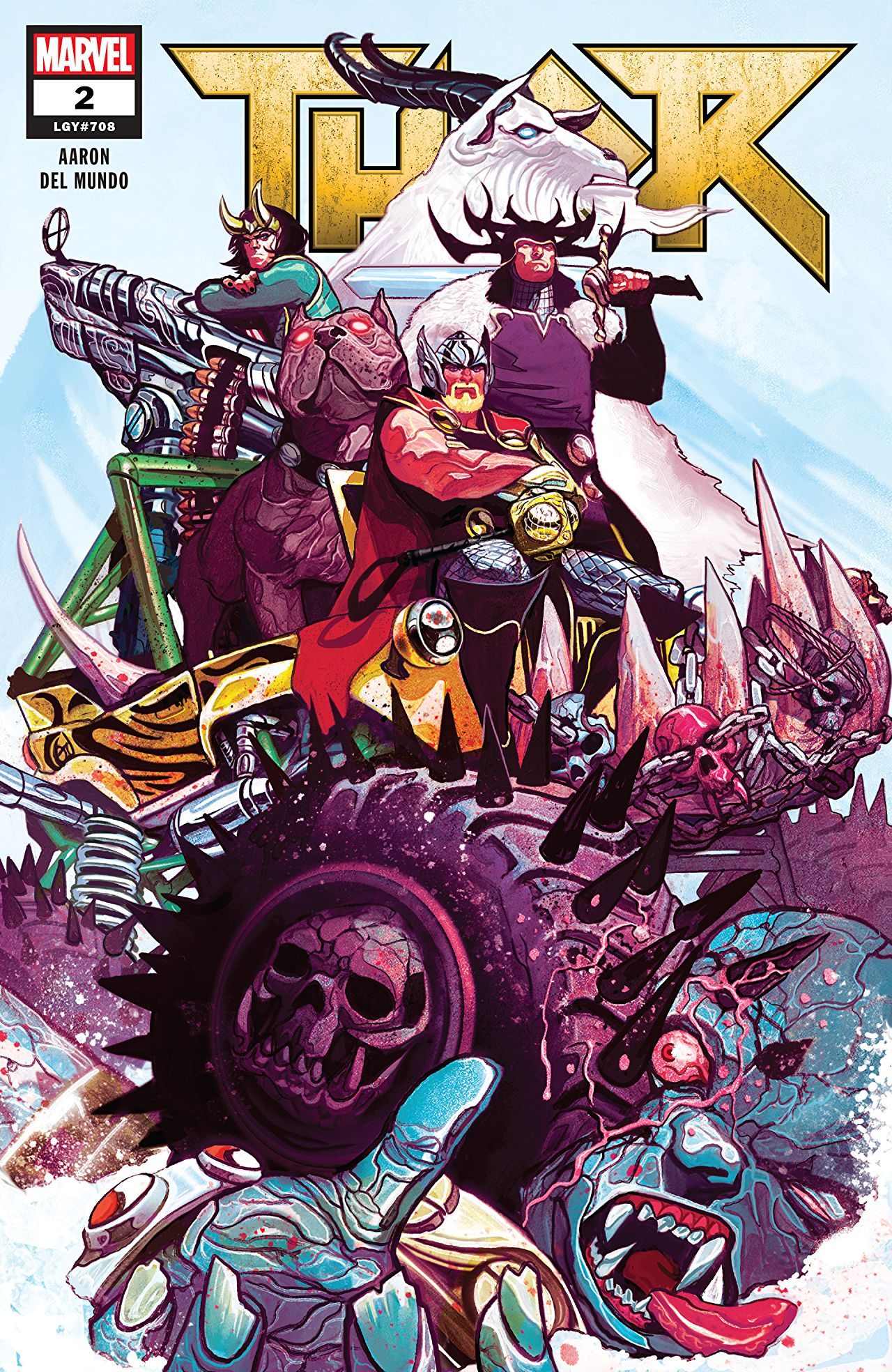 Thor 2 comic book review by Marvel comics