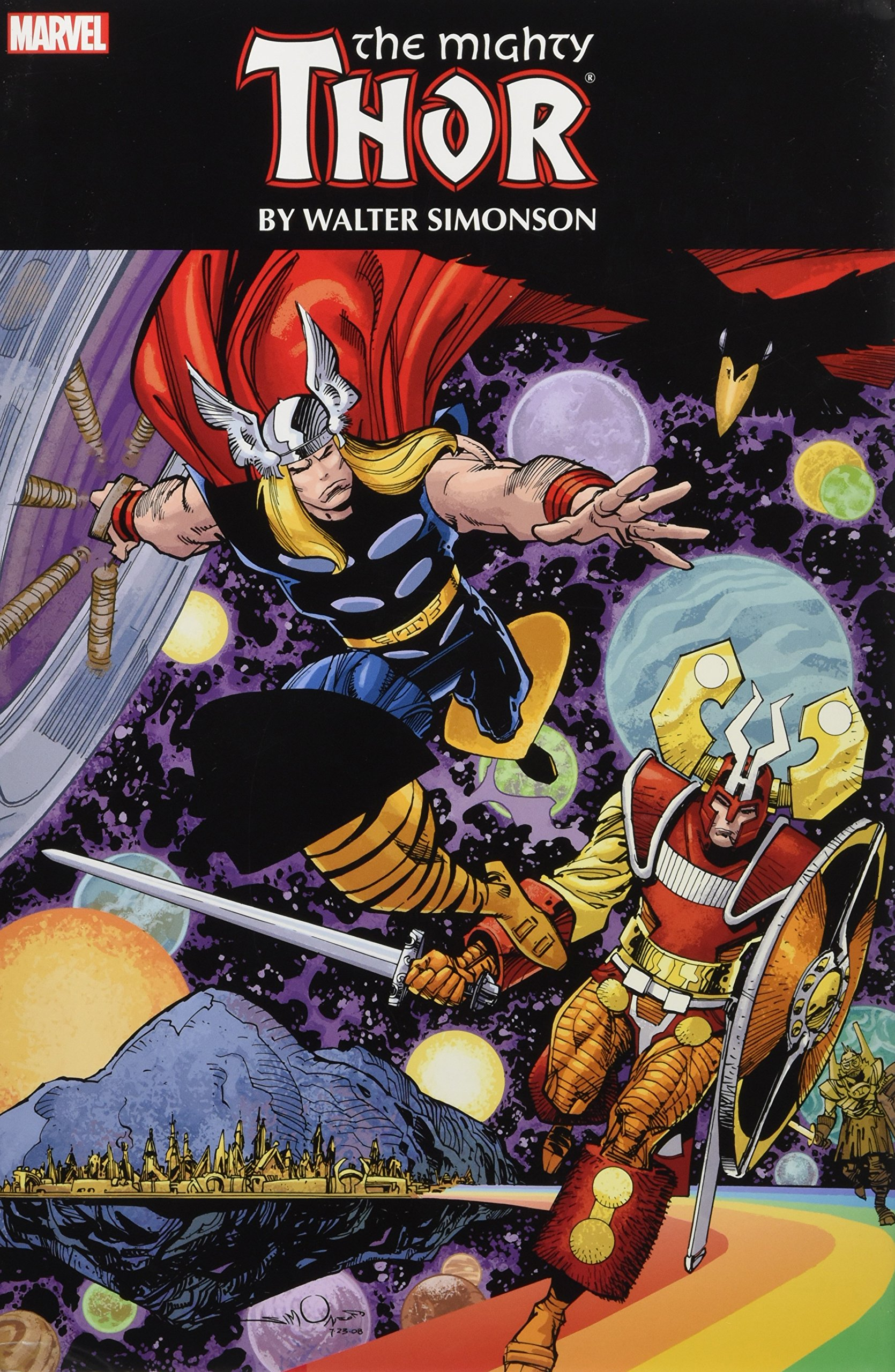 Walt Simonson Thor Omnibus Review